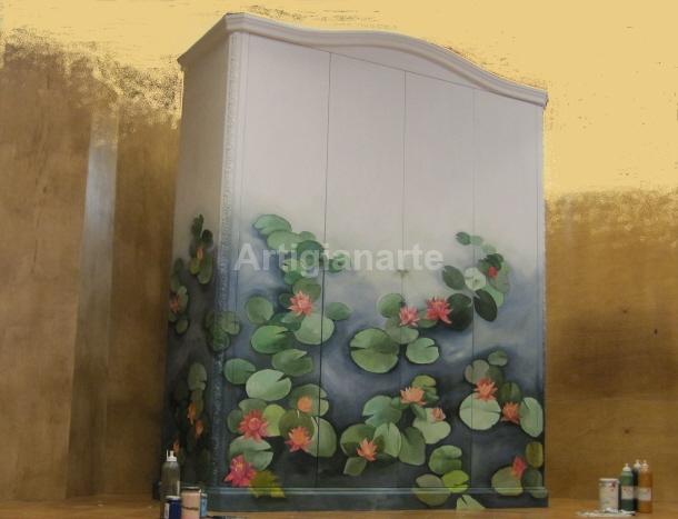 Armadio ninfeo artigianarte for Mobili provenzali grezzi