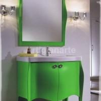 base lavabo verde
