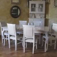 tavolo provenzale bianco
