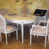 tavolo ovale shabby Firenze