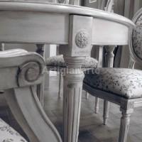 tavolo ovale shabby chic