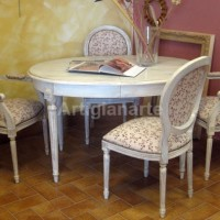 tavolo ovaleprovenzale shabby