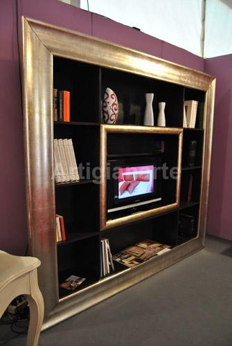 Cornice libreria tv - Artigianarte