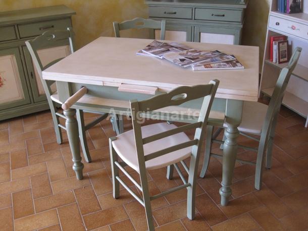 Credenza Con Tagliere : Tavolo attrezzato artigianarte