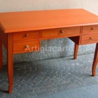 scrivania 130 arancio