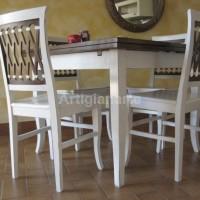 tavolo 100x100 bicolore 1