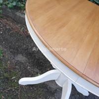 tavolo-tondo-gambone-liscio-bicolore-particolare