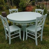 tavolo-tondo-lione-verde-chiaro