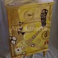 comodino ispirazione Klimt