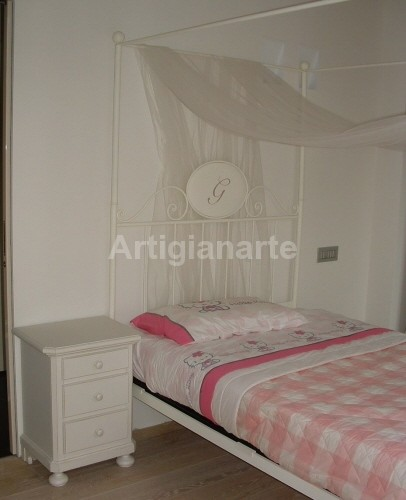 comodino stile 800 » Artigianarte decorazioni e mobili colorati in stile country, stile ...