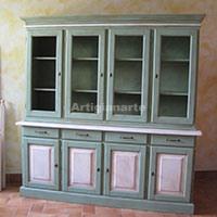 cristalliera-quattro-porte-verde-thumb
