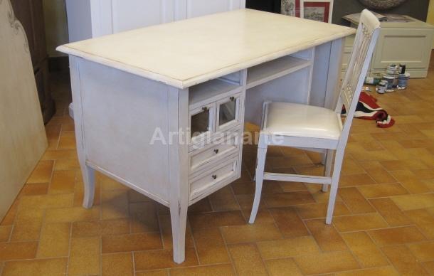 scrivania shabby chic - Artigianarte