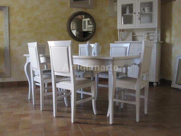 Tavolo provenzale artigianarte for Mobili provenzali grezzi