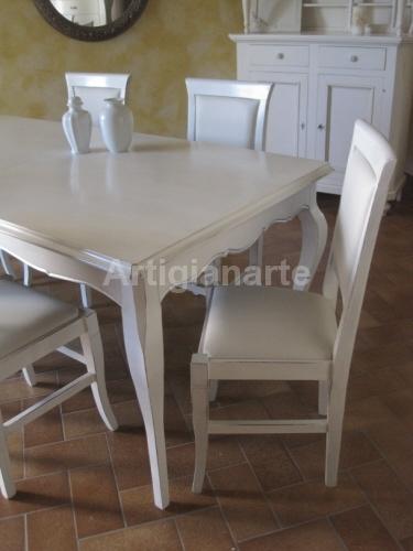 Tavolo Provenzale Bianco Allungabile.Tavolo Provenzale Bianco Allungabile Albergoeuropaselvino