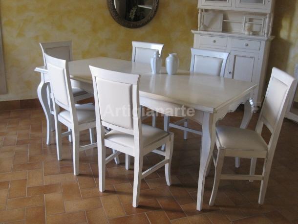 Tavolo Bianco Classico.Tavolo Classico Bianco Ispirazione Per La Casa