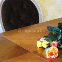 tavolo provenzale bicolore con poltroncine (2)