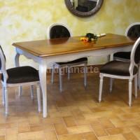 tavolo provenzale bicolore piano bassano (4)