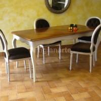 tavolo provenzale bicolore piano bassano (6)
