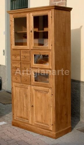 Dispensa alta artigianarte for Dispensa legno