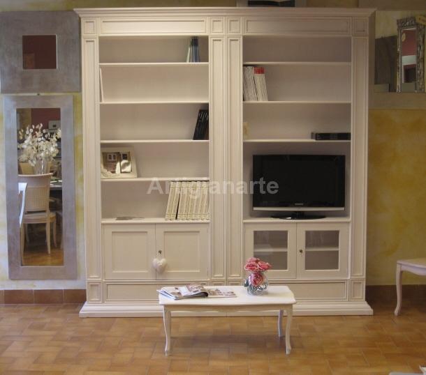 Libreria stile impero artigianarte - Mobili stile country ...