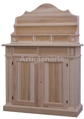 Mobili in legno grezzo da verniciare decorare la tua casa for Verniciare legno grezzo