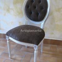 sedia-luigi-XVI-marrone