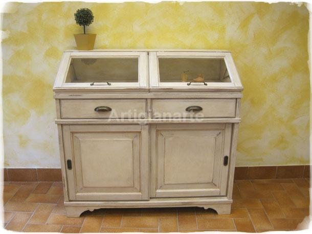 Madia country artigianarte for Dispensa legno