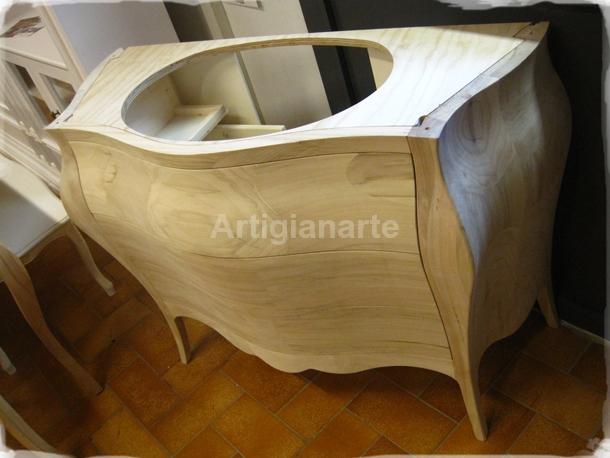 Mobili bagno grezzi design casa creativa e mobili ispiratori - Mobile bagno legno grezzo ...