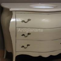 mobile bagno con marmo tala