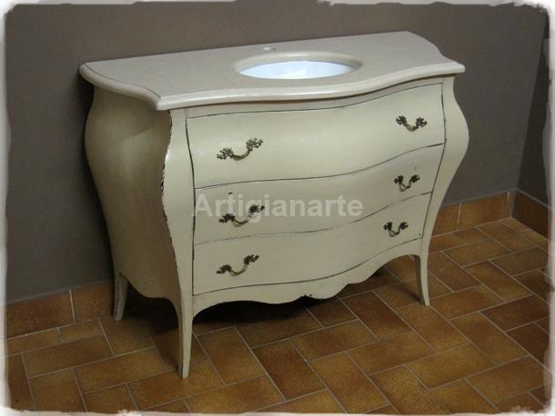 lavandini da bagno: colorato brina smile lavabo da bagno ceramica ... - Mobili Bagno Con Lavabo Da Incasso