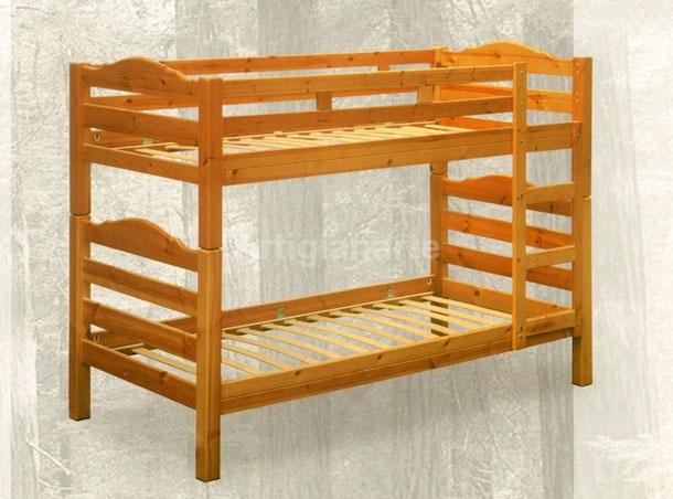 Struttura letto in legno letti in legno con contenitore decorazioni per la letto legno with - Letto a castello legno ikea ...