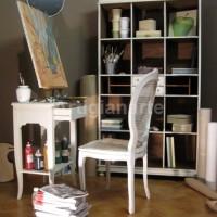 libreria toscana decapata bianca