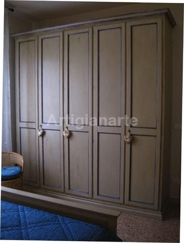 armadio-Mina-arte-povera » Artigianarte decorazioni e mobili colorati in stile country, stile ...