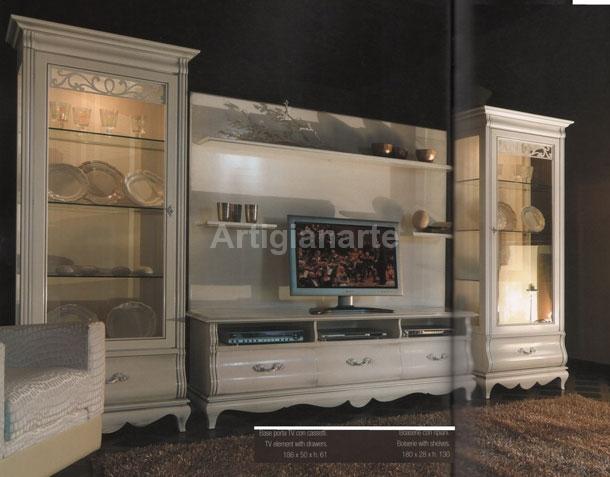 Stunning porta tv provenzale mobili da soggiorno - Arredamento soggiorno stile provenzale ...