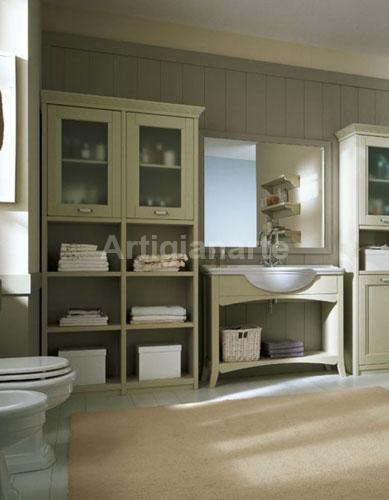 Bagno country artigianarte - Vetrinette da bagno ...
