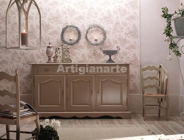 Credenza stile provenzale nicole arredare provenzale - Mobili stile provenzale ...