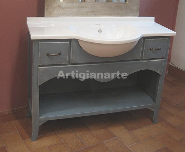 Mobile bagno arles artigianarte - Bagno stile provenzale ...