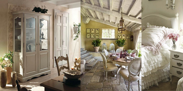 Arredamento provenzale a firenze 3 idee da artigianarte for Arredamento soggiorno stile provenzale