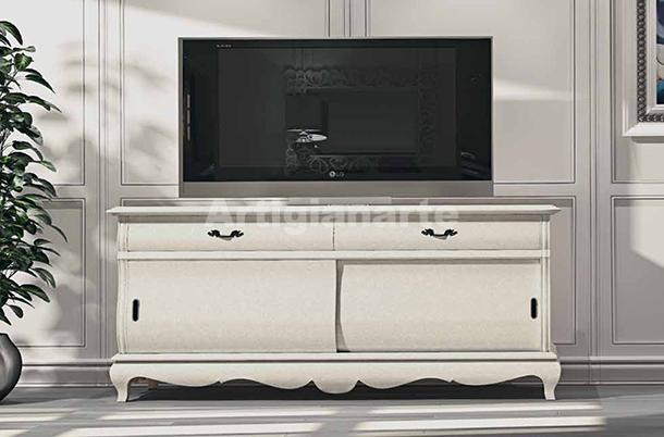 Porta televisione provenzale nantes artigianartedecori - Mobili per televisore ...