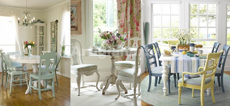 Arredamento provenzale online 3 idee per abbinare tavolo e sedie - Arredare casa in stile provenzale ...