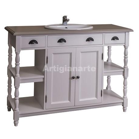 Mobile bagno edo artigianarte - Meuble pin salle de bain ...