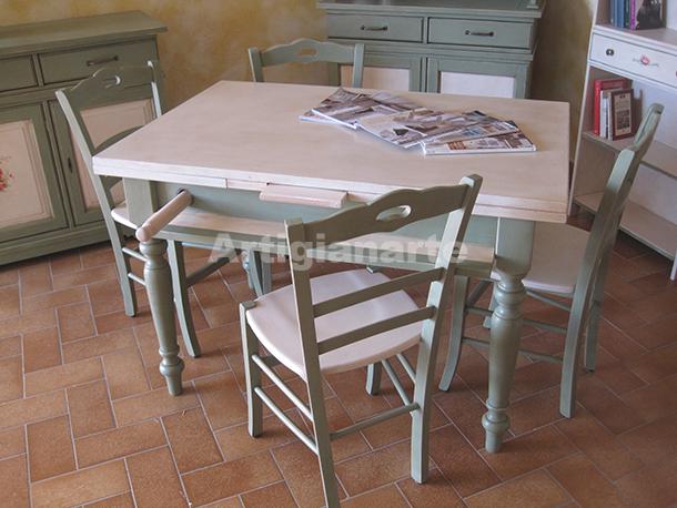 Come acquistare un tavolo in legno grezzo per la tua cucina - Mobili in legno grezzo da dipingere ...