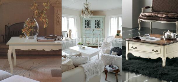 Eleganti tavolini da salotto in legno disponibili nel for Tavolini da salotto bianchi