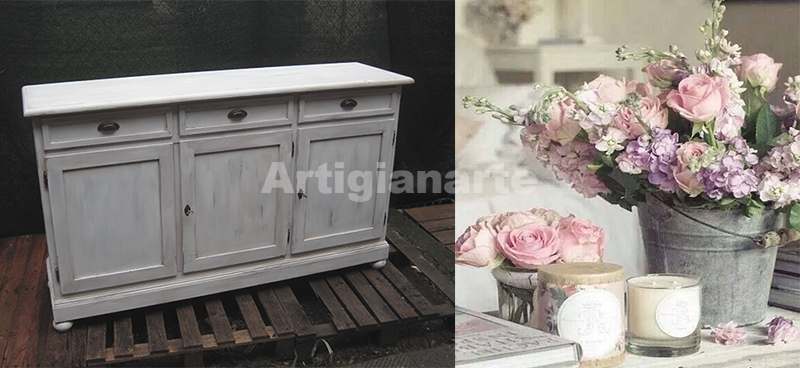 5 credenze country chic per la tua magnifica casa for Credenze shabby chic ikea