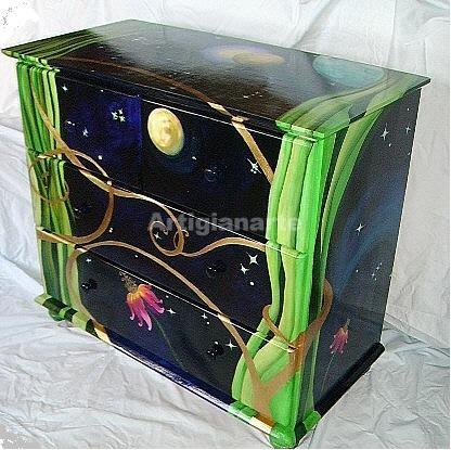 mobili dipinti a mano