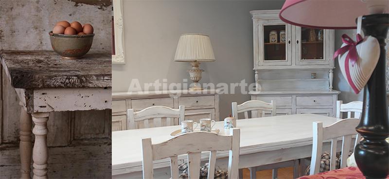 Mobili decap per trasformare la tua casa in stile shabby chic for Mobili provenzali grezzi