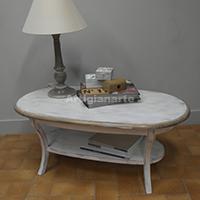 <b>Tavolino ovale Sabato</b>