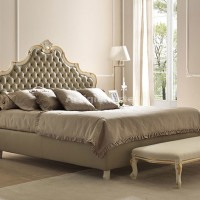 letto-provenzale-foglia-avorio-con-oro